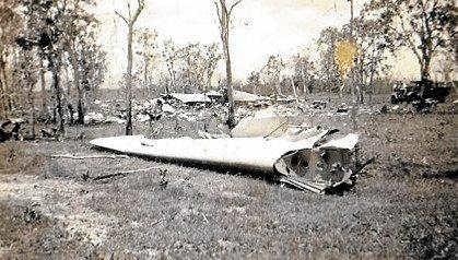 The Canal Creek plane crash of 1943 is Australia's second largest air disaster. 31 people were killed when the military plane they were traveling in crashed.