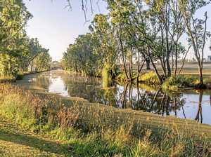 Flood warning for Condamine River
