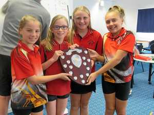 Glen Aplin students the queens of chess comp