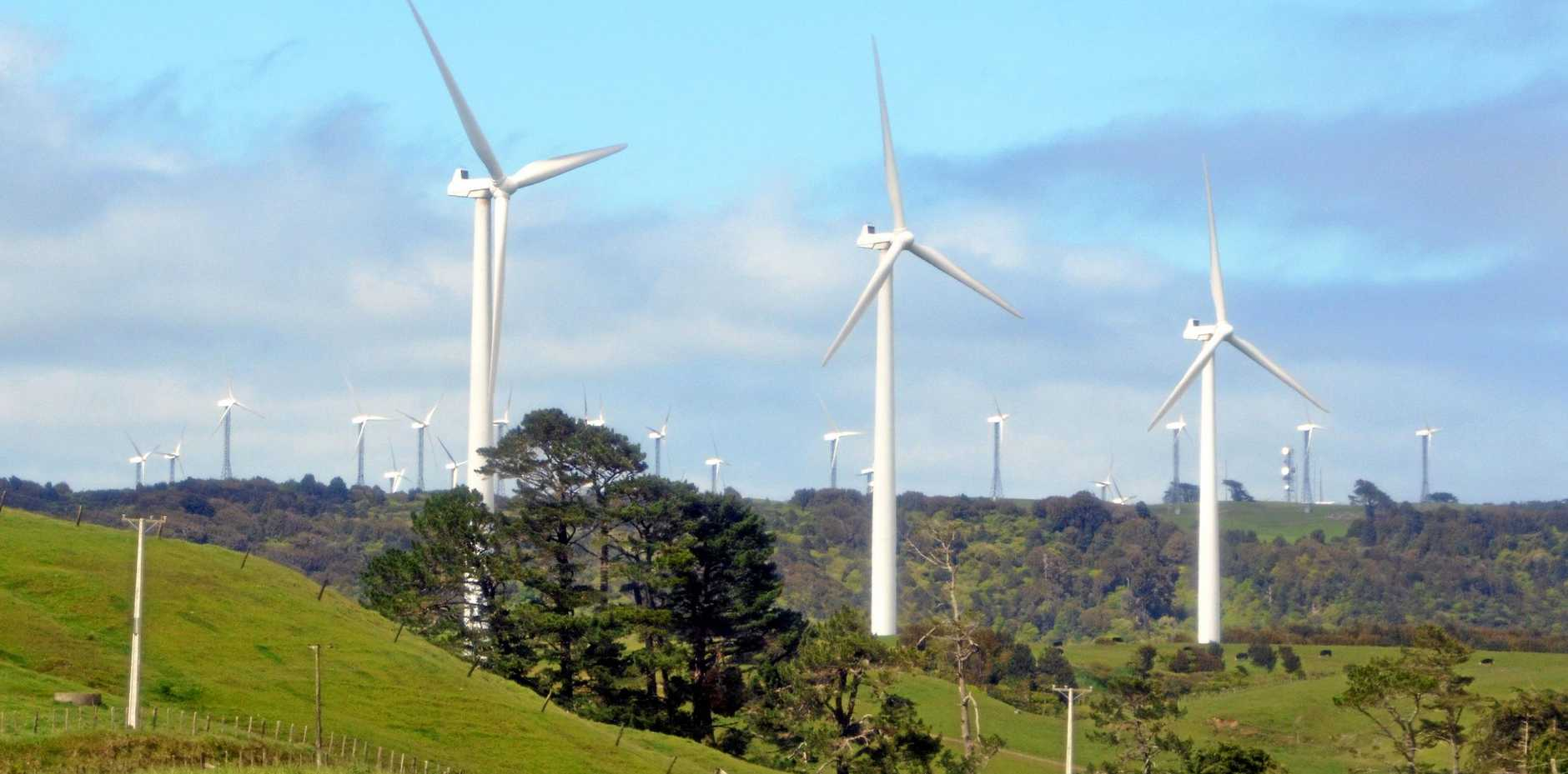 The wind farm is planned for Clarke Creek, between Mackay and Rocky.