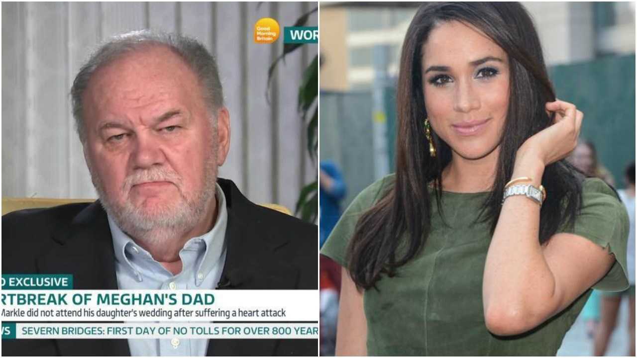 Actress Meghan Markle is 'ghosting' her dad Thomas, he says. Picture: Ray Tamarra/Getty Images