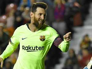 Messi magic restores Barca's La Liga lead