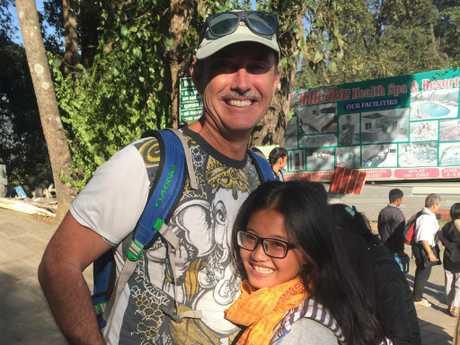 Aussie donor Craig Manley.