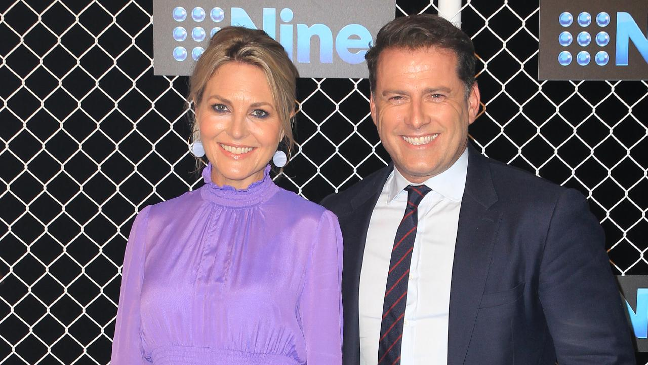Georgie Gardner and Karl Stefanovic at the 2019 Nine Upfronts. Picture: Christian Gilles