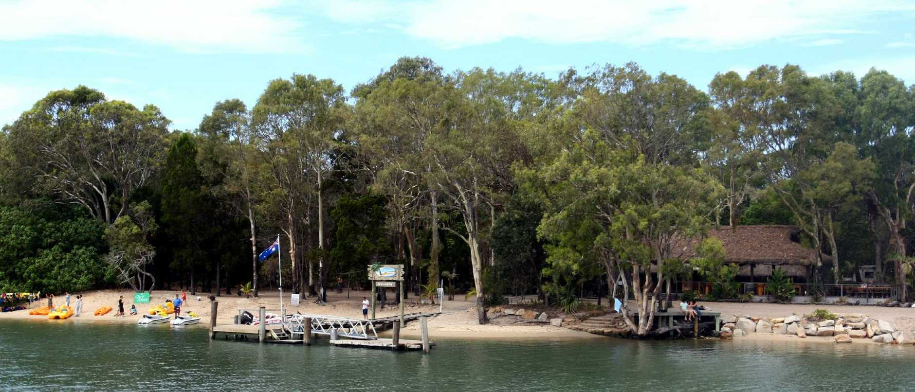 McLaren's Landing on South Stradbroke Island is a popular destination for Christmas functions.