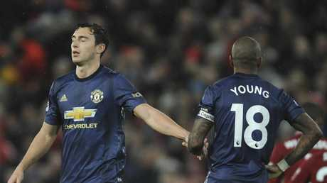 The Manchester United players have come under fire for their performances this season.