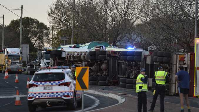 Cattle truck rollover driver escapes disqualification