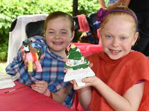 Children's Christmas party at Hervey Bay Hospital