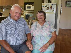 Glen and Joan Verrall celebrate their 60th wedding