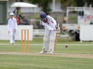 Cricket: CQ's Levi Harrold.