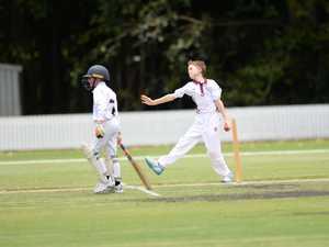 Cricket: CQ's Jayden Gardner.