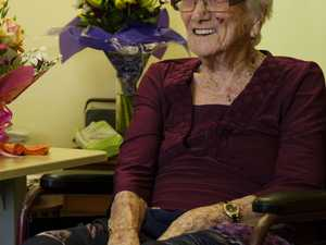 CENTURY: Eileen Bourke celebrated her 100th birthday