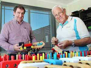 Hervey Bay's generosity pays off for men's shed