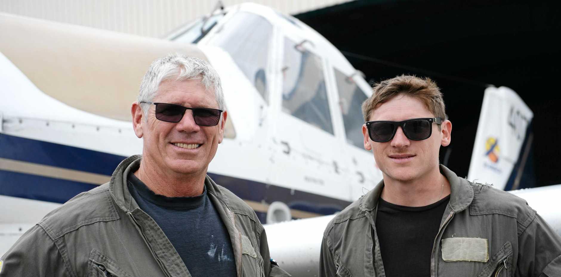 R-Mach Aviation's Richard McDonald and Peter McDonald.