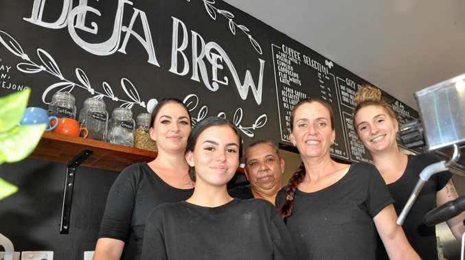 Deja Brew opens up in plaza
