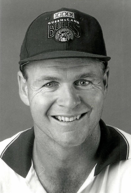 Ipswich's Sheffield Shield-winning cricketer Dick Tazelaar.