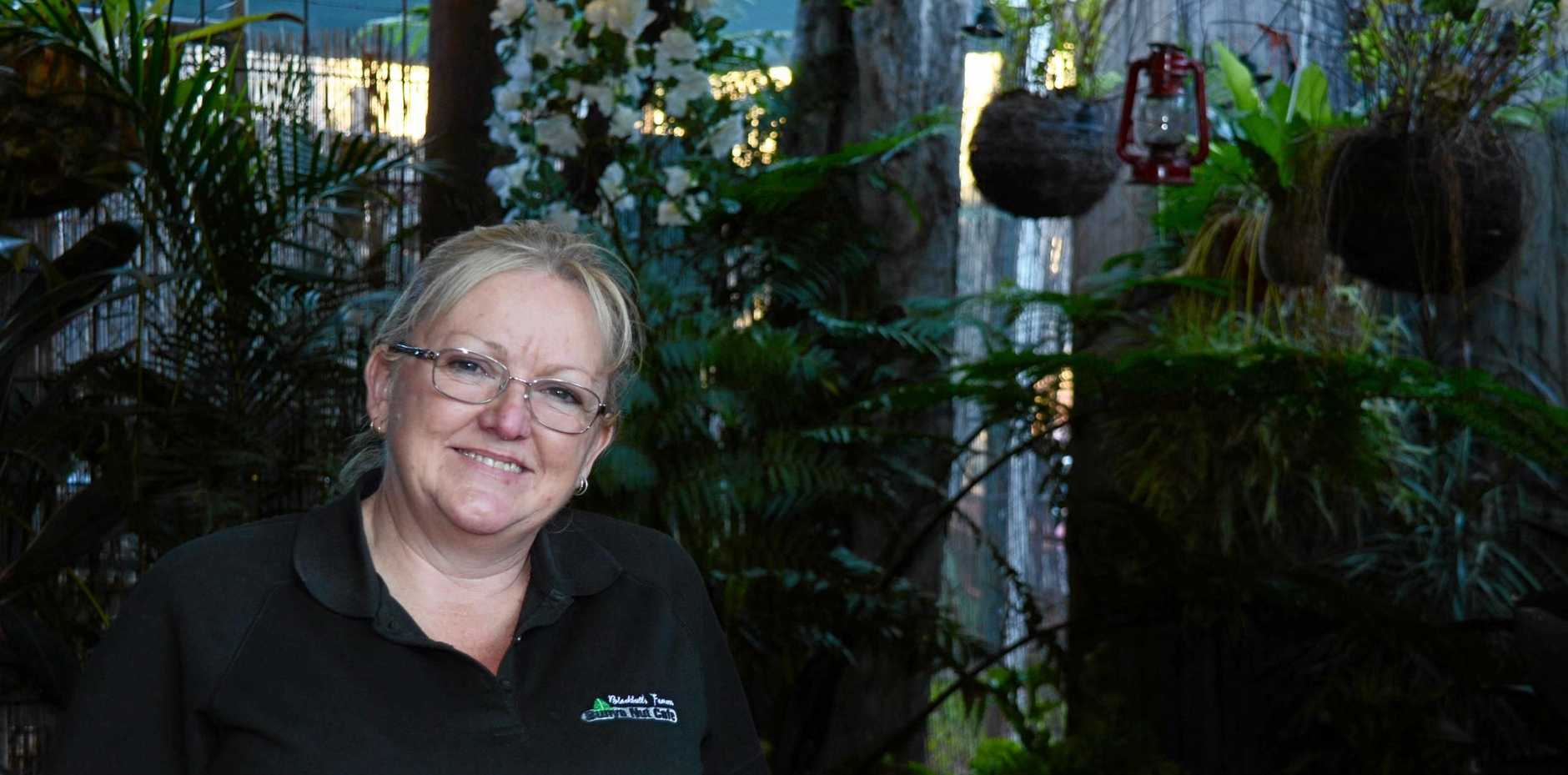 Evelyn Green from the Bunya Nut Cafe.