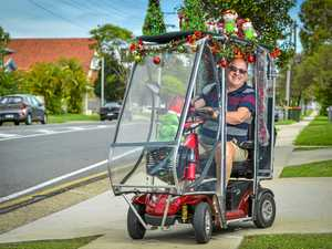 Funky Christmas cruiser sends a powerful message