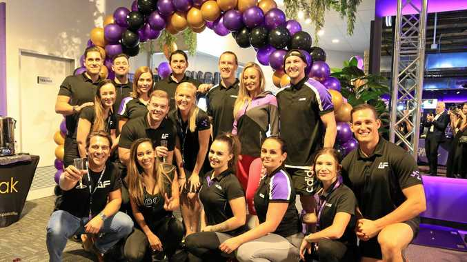 MILESTONE: The opening of Anytime Fitness' 500th Club, in Goodna.