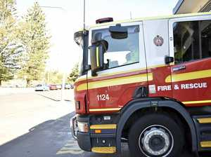 Man hospitalised after attempting to put out 4WD blaze