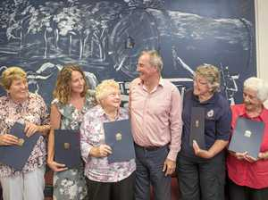 Outstanding female volunteers recognised for their efforts
