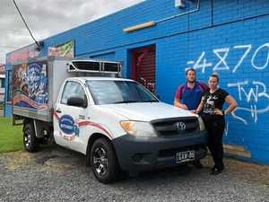 Business owners left fuming after building tagged by vandals