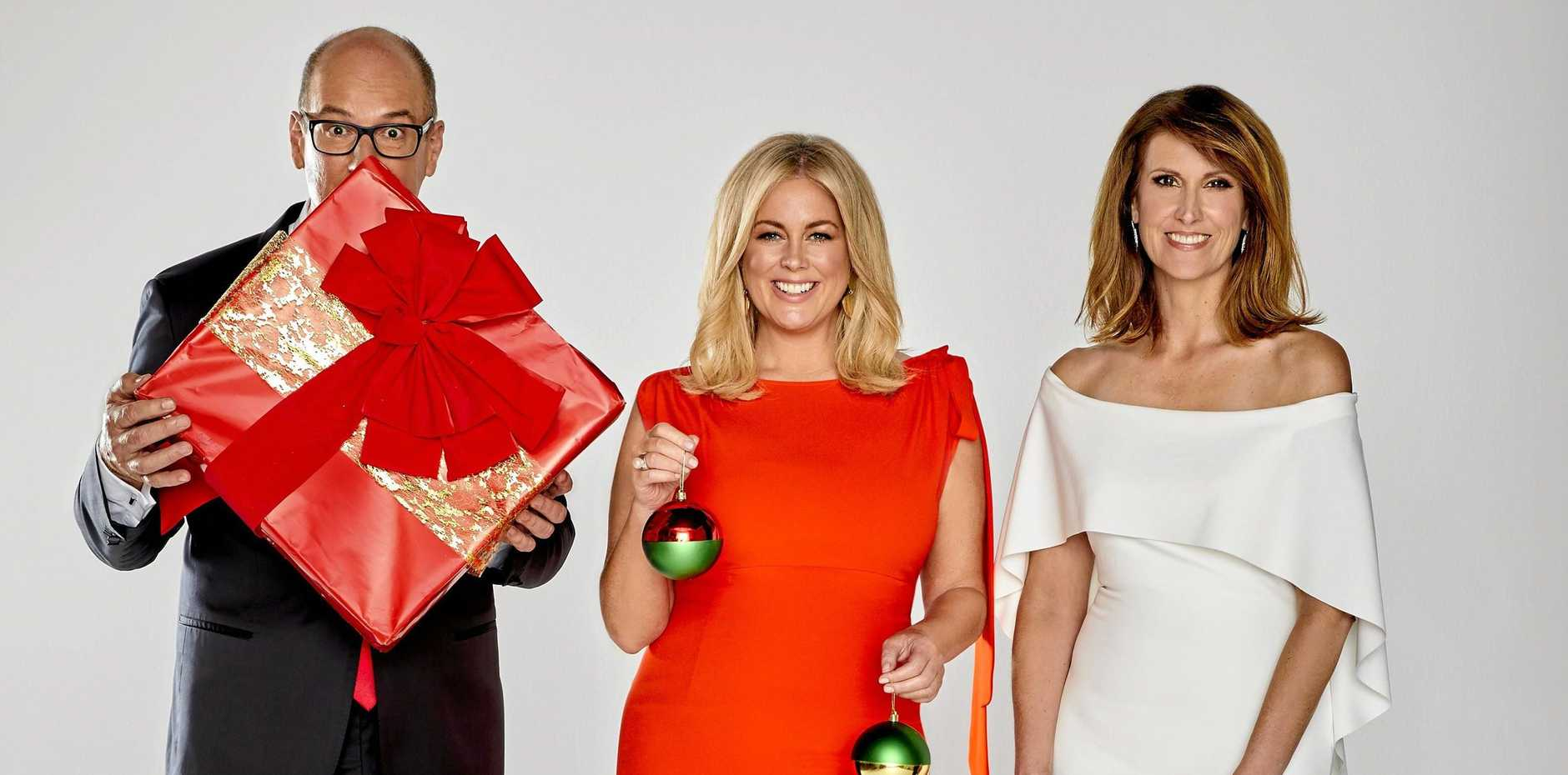 David Koch, Samantha Armytage and Natalie Barr will host this year's Carols in the Domain.