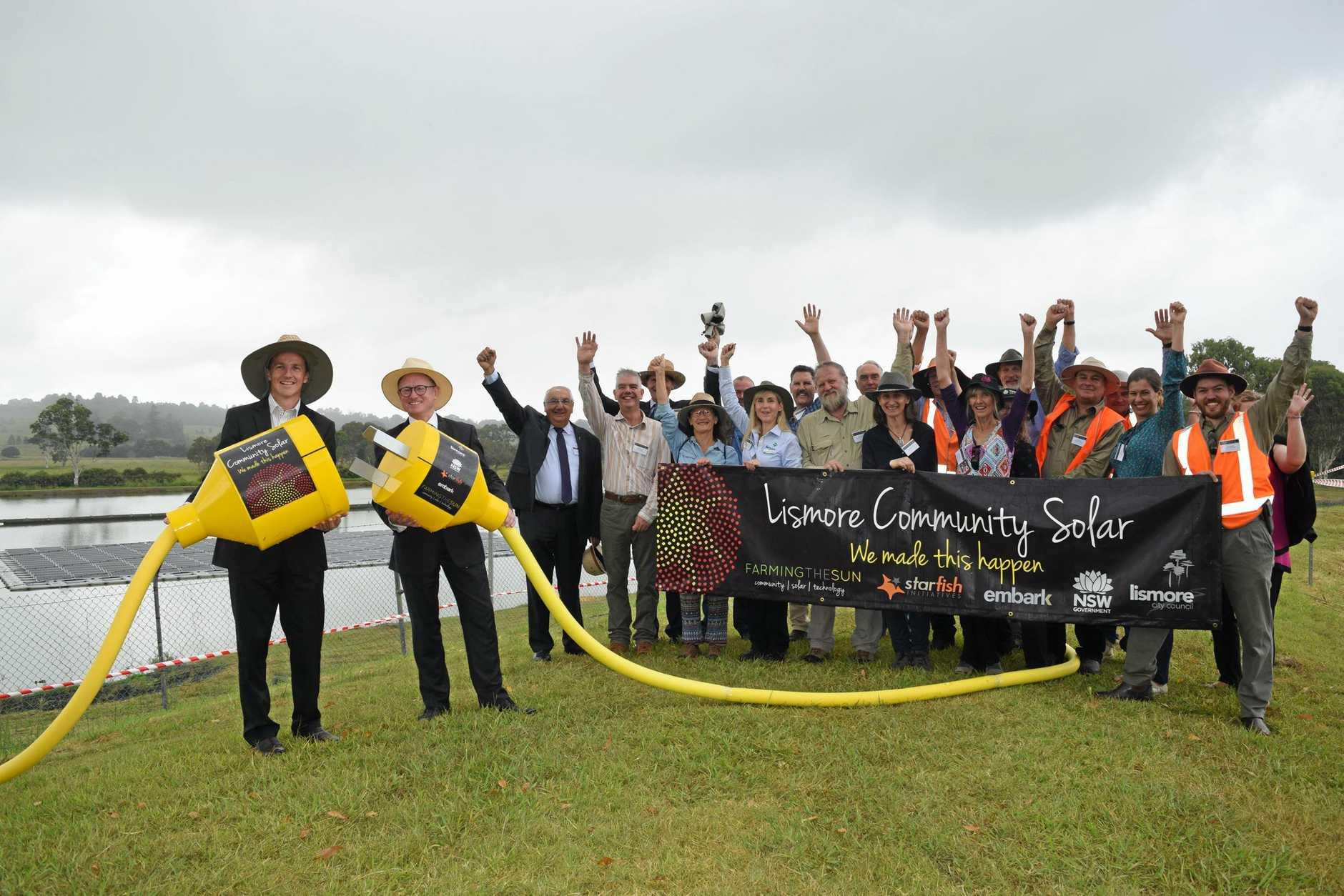 COMMUNITY SOLAR PROJECT: Lismore Community Solar project includes the construction of Australia's largest floating solar farm.
