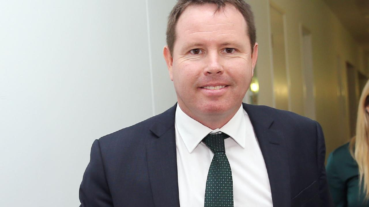 Nationals Andrew Broad at Parliament House in Canberra. Picture: Gary Ramage