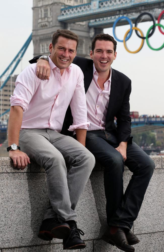 Karl and Peter during the London Olympics in 2012