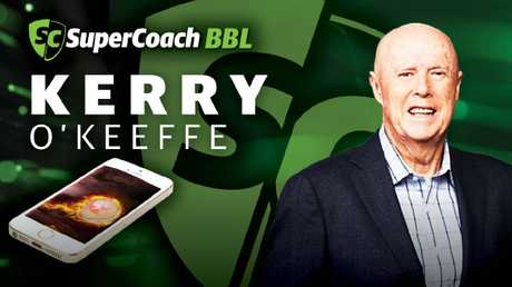 Kerry O'Keeffe is playing SuperCoach BBL.