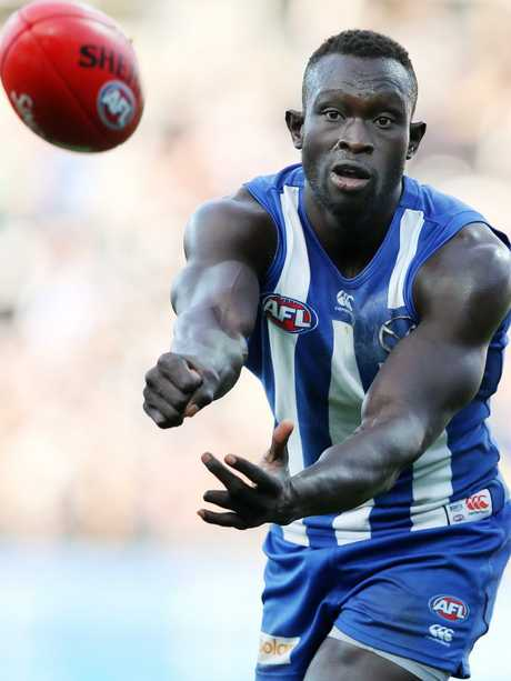 Majak Daw has always dealth with numerous challenges. Picture: Michael Klein