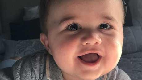 Little Oscar arrived on June 3 weighing 3.6kg.