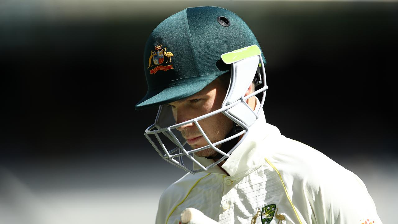 Peter Handscomb struggled to cement his spot in the side. (Photo by Ryan Pierse/Getty Images)