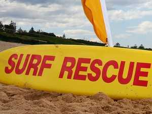 Dramatic beach rescues ahead of 'heatwave'