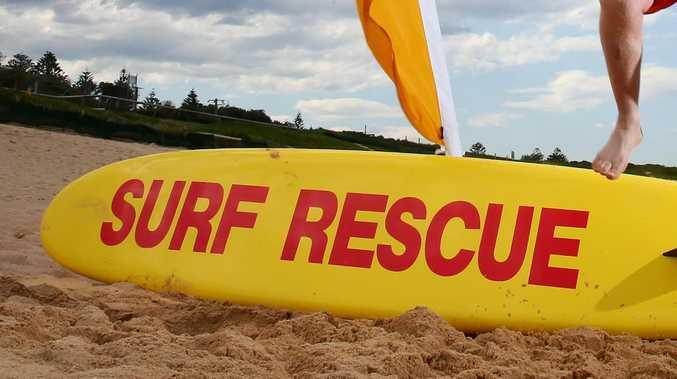 Surf lifesaving. (AAP Image/Sue Graham)