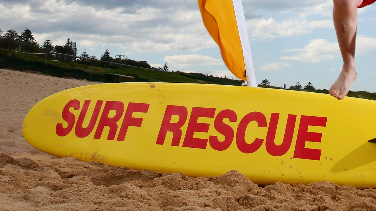 Surf lifesaving. (AAP Image/Sue Graham)