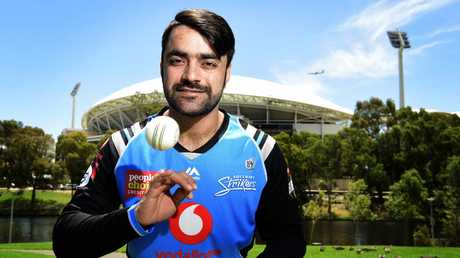 Rashid Khan is the world's best T20 bowler. Picture: Bianca De Marchi