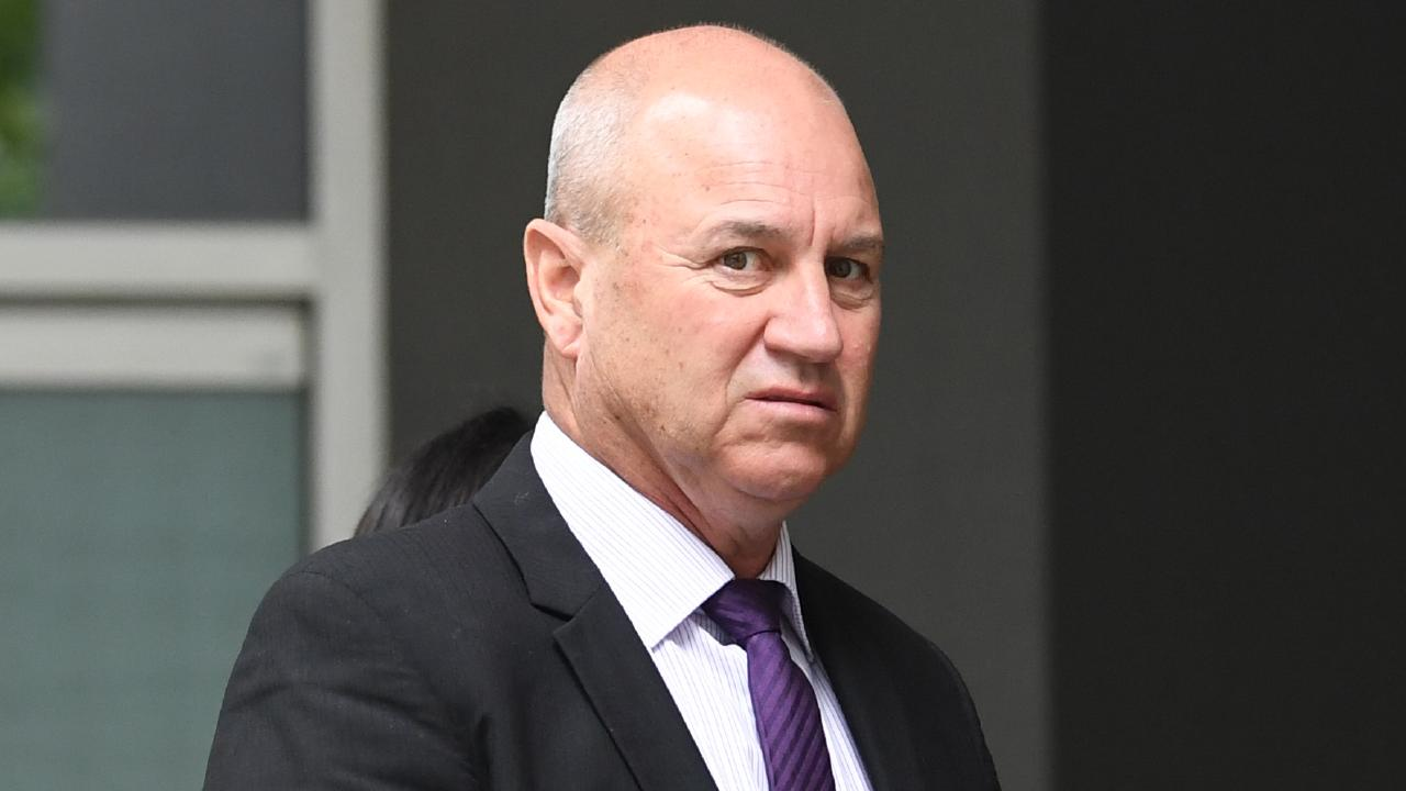 Stablehand Greg Nelligan leaves the Victorian Civil and Administrative Tribunal (VCAT). Picture: AAP Image