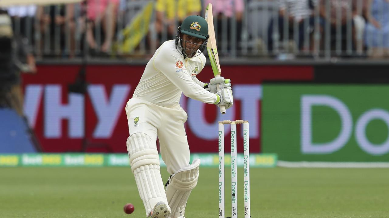 Usman Khawaja played a vital knock in the second innings. (AP Photo/Trevor Collens)
