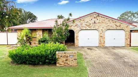 This house at 25 Bordeau Cres, Petrie, is for sale.