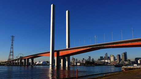 The Bolte Bridge.
