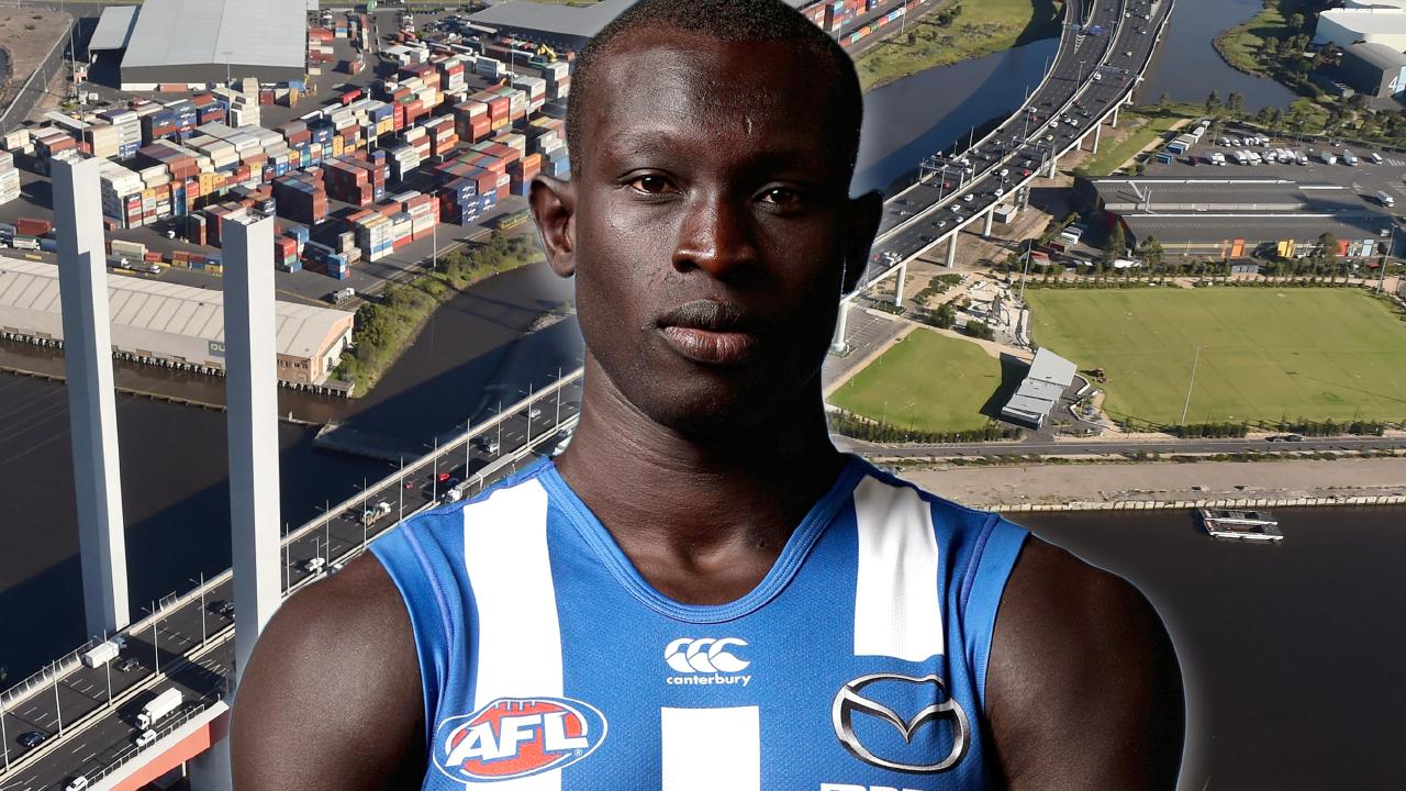 Majak Daw is recovering in hospital.