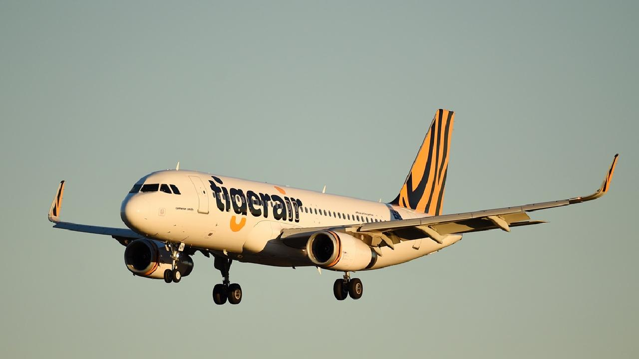The Tigerair flight was forced to return to Sydney and make an emergency landing following a 'written threat'.