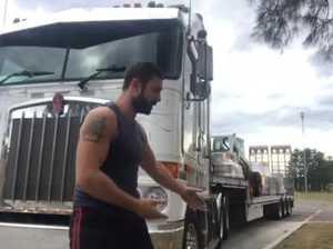 Tip 3 - Blind spots around trucks