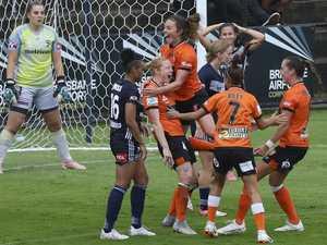 Westfield W-League at Lions Stadium, Brisbane, Round