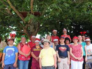 Granite Belt Support Services perform Christmas