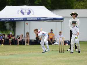 Cricket: CQ U12 Jayden Gardner.