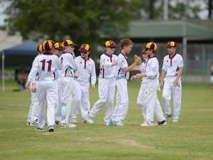 Cricket: CQ U12 team.
