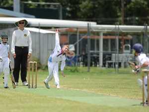 Cricket: CQ U12 Riley McDonald.